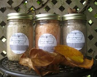 Fall Blends Bath Salts