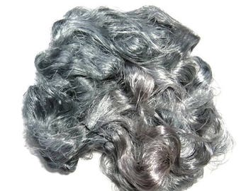 SALE Banana Silk Fiber,1 oz Silver