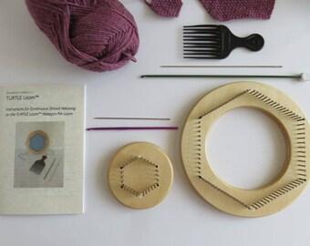Loom Combo I - TinyTURTLE™ and TexaTURTLE™ Hexagon Pin Looms Kit