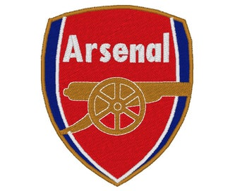 Arsenal logo-machine embroidery pattern-instant download