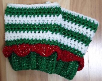 Christmas Elf Boot Cuffs