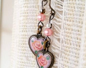Vintage Valentine Earrings