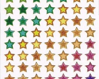 Stickers, Stars, 1 sheet (1654)