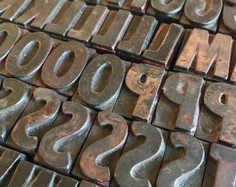 You Pick / Vintage Letterpress / Wood Letterpress / Wood Blocks / Printer Block / Wood Type / Wood Letter / Alphabet Letters