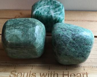 Jade Power Palm Gemstone, Stone of Luck,Spiritual Stone, Healing Stone, Healing Crystal, Chakra