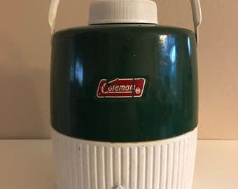 1978 Coleman 2 gallon water Jug