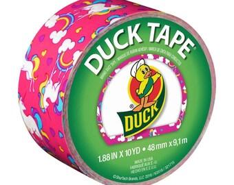 Duck Brand Duck Tape Roll Unicorns 10yd