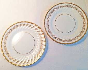Foley China Appetizer Plates - Set of 2