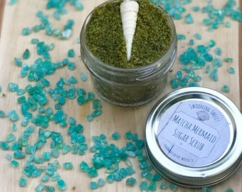 Matcha Mermaid Sugar Scrub