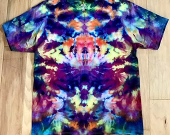 Ice Dyed Tie Dye Mens T Shirt