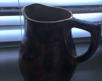 Govannero Glasgow Pottery Ceramic Pitcher Pink