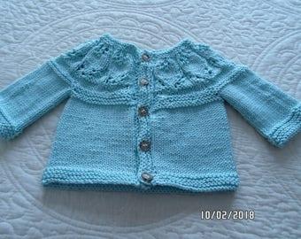 Baby Girl Cardigan Sweater