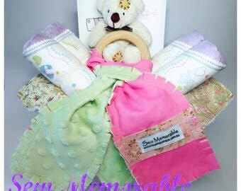 Baby Gift - Pink Mint