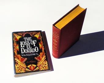 The Loss of El Dorado by V.S. Naipaul (1970, Knopf) 1st Edition Hardcover