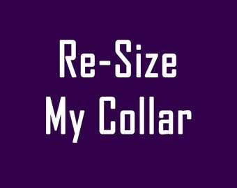 Resize my Collar