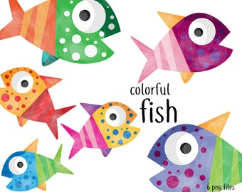 Fish Clipart Instant Download