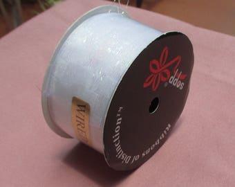 Retro Sopp Iridescent Wired Ribbon Unopened Package