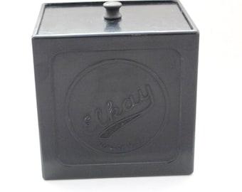 Vintage Bakelite Elkay Photoproducts Film Safe Lidded Box
