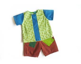 Trolls - Branch Set - Halloween Outfit- Boy Dress up - trolls birthday outfit - Branch - Trolls Costume - trolls birthday party - Poppy