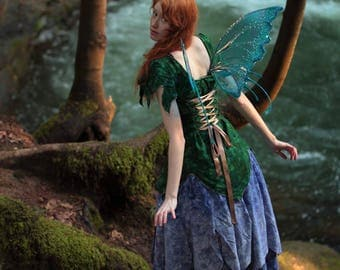 Womens Delphinium Fairy Costume
