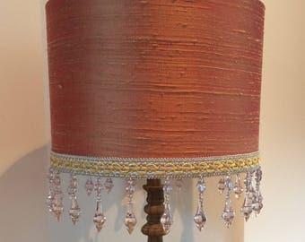 Pure silk lampshade