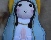 Saint Doll Our Lady of Lourdes Soft Catholic Religious Toy