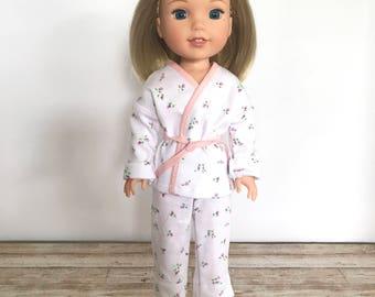 """14.5 Inch Doll Dress, 14.5"""" Doll Outfit, WW Pajamas, WW PJs"""