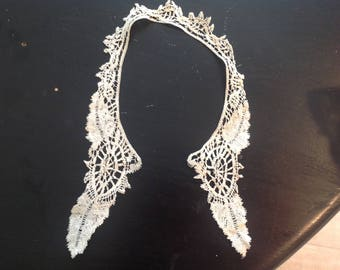 Antique collar, handworked