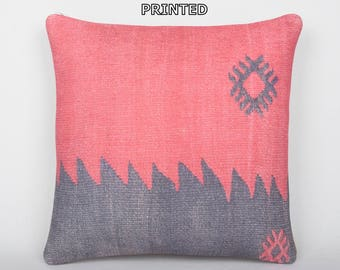 20x20 primitive kilim pillow gypsy fabric home furnishings extra large throw pillow kilim cushion cover rustic bedroom bench cushion 132-50