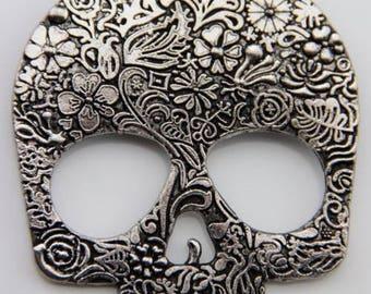 Sugar Skull Necklace ~  Vintage