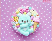 Kawaii sweet Cell Phone Grip Holds Device -Favorite Sweets-  by Dolly House