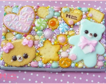 Favorite Sweets Business or Credit Card Holder Case by Dolly House