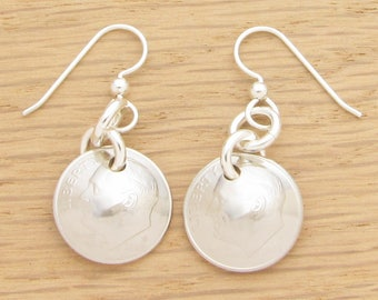For 15th: 2003 US Dime Earrings 15th Anniversary or 15th Birthday Gift Coin Jewelry