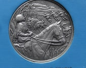 DAR The Great Women of the American Revolution-Stark,Steele,Stuart— Fine Pewter Medals-Franklin Mint-1974 Mother's Day