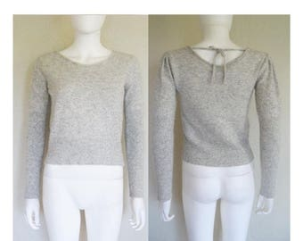 25% off SALE Grey Sweater