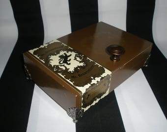 Esteban Carreras Cigar Box Valet, Watch Box, Stash Box, Momento Box, Groomsman Gift, Guy Gift, Authentic, Tampa