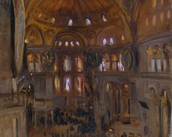 "John Singer Sargent : ""Santa Sofia"" (c. 1891) - Giclee Fine Art Print"