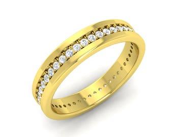 Diamond Eternity Band | Eternity Band Gold | Diamond Eternity Band White Gold | Diamond Wedding Ring | Wedding Band | Anniversary Ring