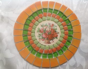 China mosaic tiles~~ShABBuLoUS & FaBBuLoUS~~~TeRRIfic TanGeRine