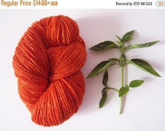 CIJ SALE Orange Sock Yarn Wool Blend Knitting Yarn Knitting Notions Crochet Supplies100 g / 3.5 oz