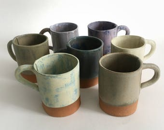 Pottery Mug, Stoneware Ceramic Cup, Vermont Pottery