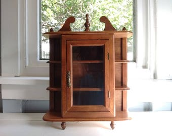 Wall Mounted China Cabinet. Hanging Display Cabinet Wall Mount ...