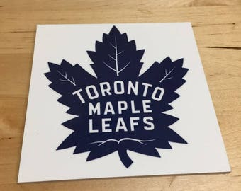 Toronto Maple Leafs Coasters, Set of 2