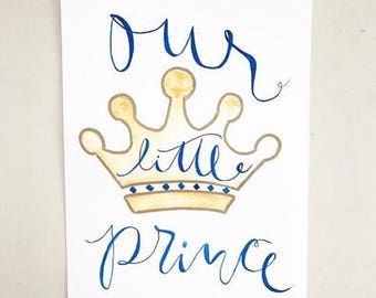 Our Little Prince PRINT