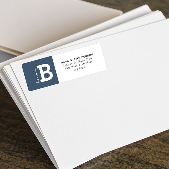 personalized return address labels custom shipping labels return