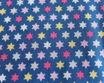 fabric star multicolored 50 * 70 cm
