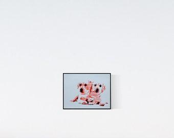 Labrador Retriever - custom dog portrait - Custom pet portrait - personalized pet - dog illustration - pet lover gift - custom pet portraits