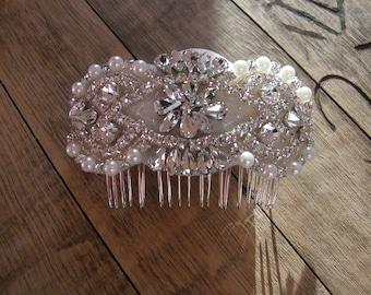 Bridal Hair Comb, Wedding Head Comb, Wedding Headpiece, Rhinestone Head Comb, Wedding Comb, Bridal Hair Comb