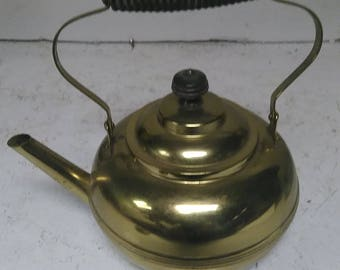 Manning Bowman brass tea pot