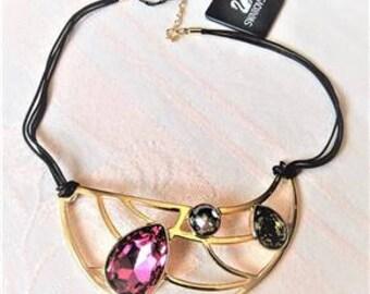 Genuine Swarovski Crystal Necklace - New in the Box